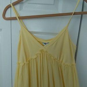 NWOT! ~HARD TAIL~ GORGEOUS YELLOW MAXI DRESS